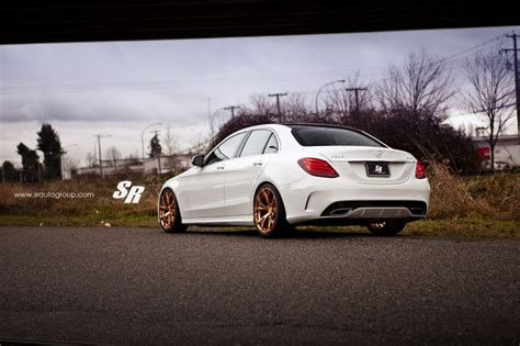 mercedes  klasse  mit pur wheels rs