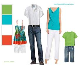 clothing color combination for summer family portraits cheryl steinhoff photography 39 s