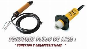 Sensor Flujo Aire   Usos Y Conexionado
