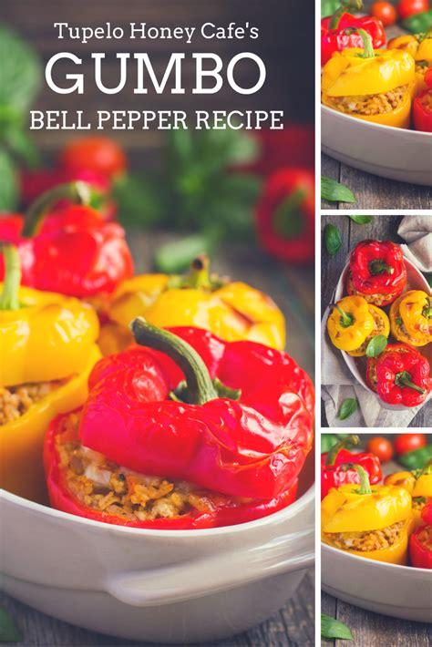 gumbo bell peppers recipe tupelo honey cafe