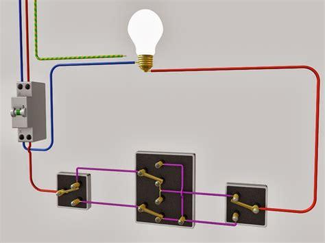 installation electrique le raccordement de 3 interrupteurs va et vient