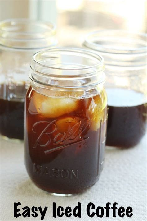 The only iced coffee recipe you need (in 3 'how to' steps). Easy Iced Coffee | Recipe | Iced coffee, Iced mocha recipe, Iced coffee at home