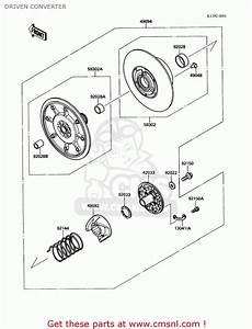Kawasaki Mule 1000 Engine Parts Diagram