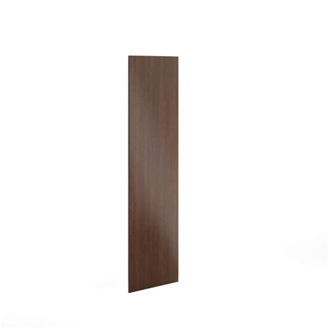 kitchen cabinet door eurostyle 24x80x0 75 in replacement end panel in reddish 2480