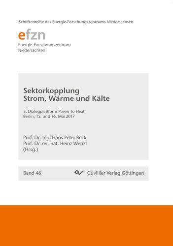 Allgemeines Zu Waerme Kaelte Strom Und Wasser by Sektorkopplung Strom W 228 Rme Und K 228 Lte Band 46