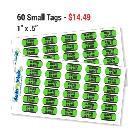 Doraemon Sticker Name Label Small custom name labels small personalized stickers