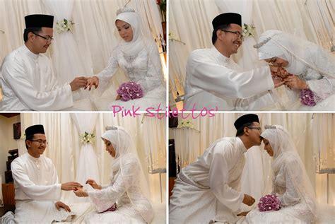 wedding  nikah  pink stilettos