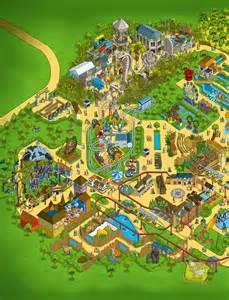 Chessington World of Adventures Park Map