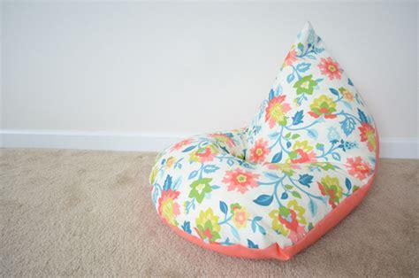 how to make bean bag chair sew handimania
