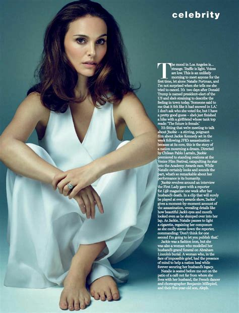 Natalie Portman Marie Claire South Africa March Issue