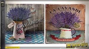 Deco Murale Vintage : s rie de deux plaques en m tal de d coration murale ~ Melissatoandfro.com Idées de Décoration