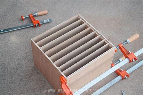 diy construction paper organizer scrapbooking storage