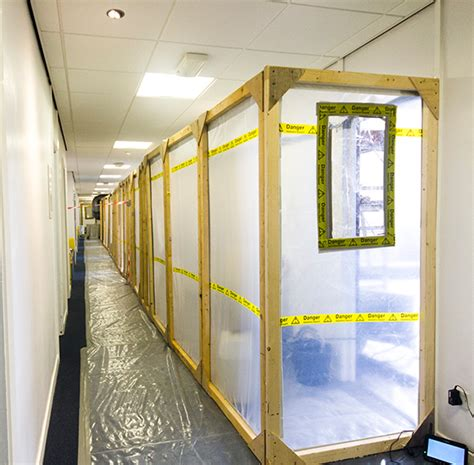 asbestos removal project  hampshire merryhill