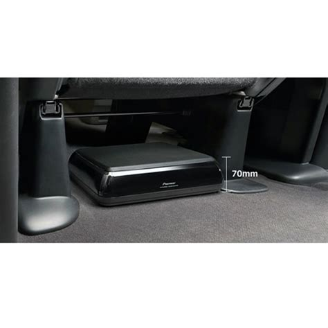 pioneer ts wxea seat car subwoofer space saving active