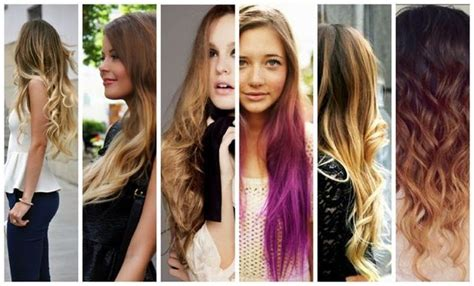 4 Pretty Cute Ombre Hair Color Ideas For Teen