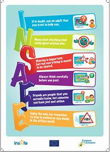 Warren Sparrow: Internet safety poster