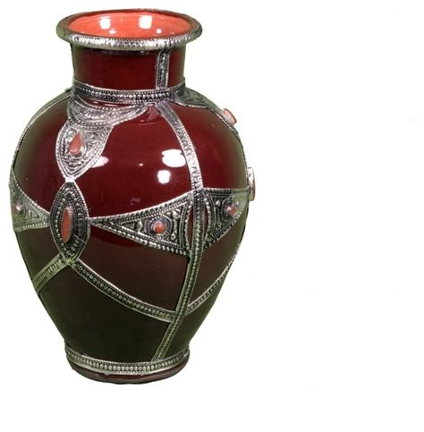 Moroccan Vases by Moroccan Vase Eclectic Vases New York By Second
