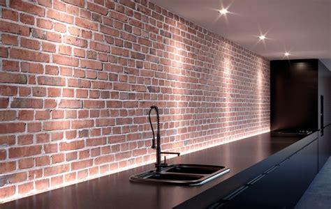briques cuisine nettoyer les murs en briques dans une cuisine les astucieux