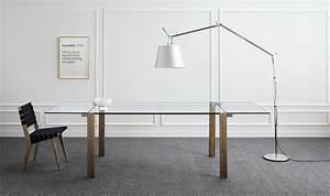 Table Verre Bois : table verre et bois rallonge ~ Teatrodelosmanantiales.com Idées de Décoration