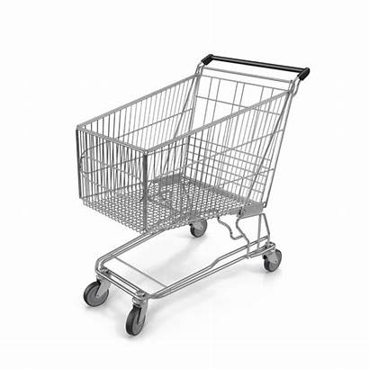 Shopping Cart Transparent Grocery Carts Trolley Pixelsquid