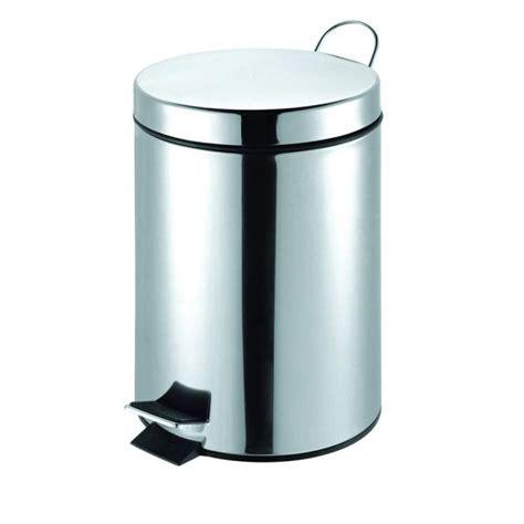 poubelle cuisine pedale poubelle à pédale inox 12 l avec seau achat vente poubelle corbeille poubelle à pédale