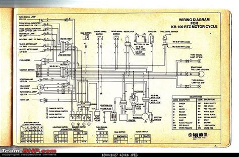 Wiring Diagrams Indian Two Wheelers Team Bhp