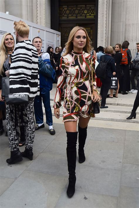 Kimberley Garner David Ferreira Catwalk Show London