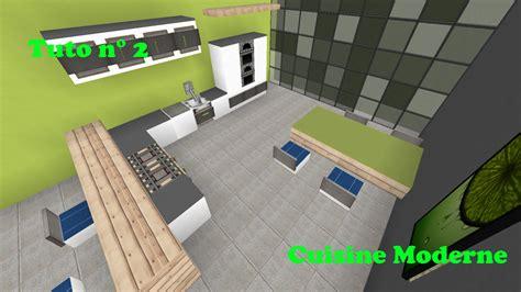 cuisine de luxe moderne minecraft tuto cuisine moderne