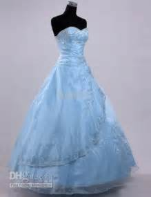 pale blue wedding dress pale blue wedding gown wedding gowns colorful