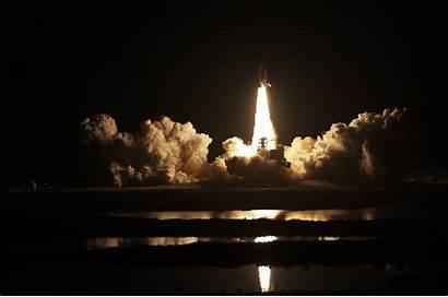 Shuttle Launch Space Nasa Night Rocket Cloud