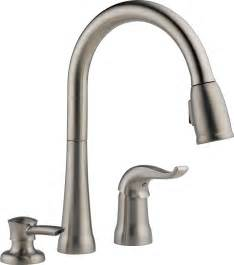 pull kitchen faucet with magnetic sprayer dock best kitchen faucets - Delta Kitchen Faucet With Sprayer