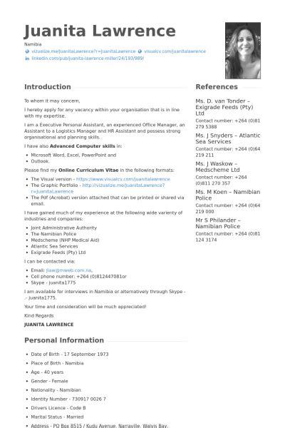 logistics manager resume sles visualcv resume sles