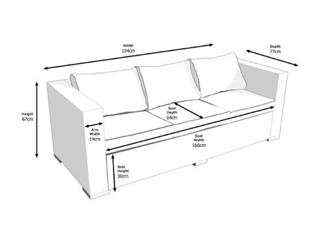 length of loveseat how to measure sofa depth brokeasshome