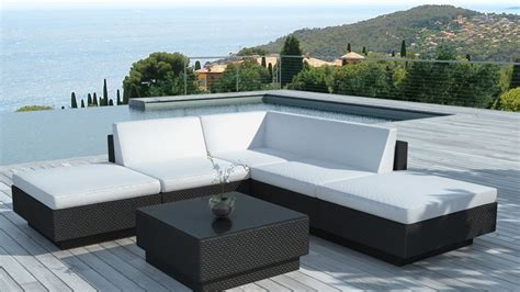 Salon De Jardin Design Salon De Jardin Design 6 Places En R 233 Sine Tress 233 E