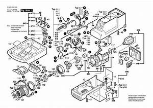 Bosch Axt 2200 Hp  0600852042  Chopper Diagram 1 Spare Parts Diagram