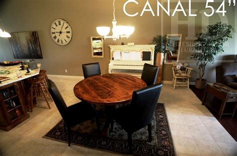 reclaimed wood kitchen dining table in drayton