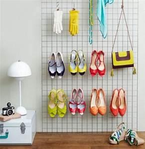 Idee Rangement Chaussure : 10 id es de rangements chaussures r cup faire soi m me ~ Teatrodelosmanantiales.com Idées de Décoration