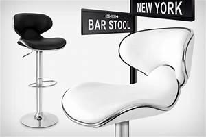 Tabouret De Bar York Blanc