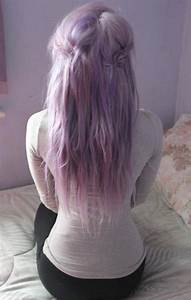 lilac hair | Like My Mane? | Pinterest