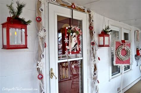 Screened In Porch Decorating Ideas And Photos by Outside Christmas Decor Ideas From Four Bloggers