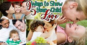 95 Ways To Show Your Child Love   Drive