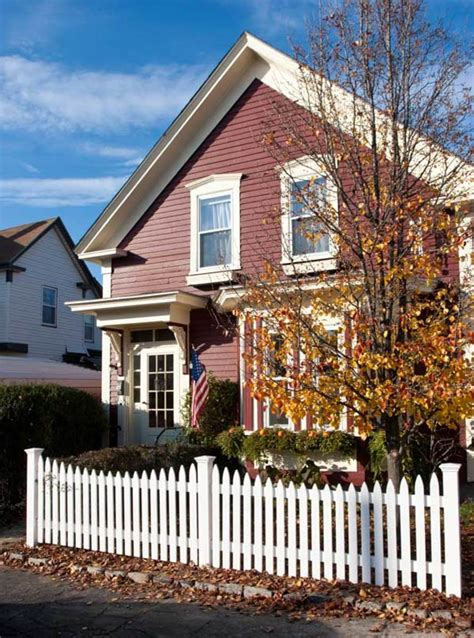 picket fences   houses  house journal