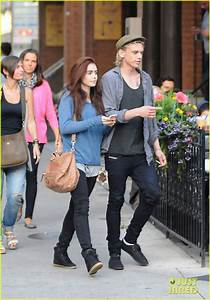 Jamie Campbell Bower and Lily Colins   We Heart It   lily ...