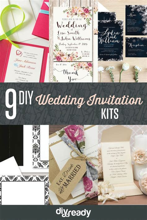 diy wedding invitation kits diy ready