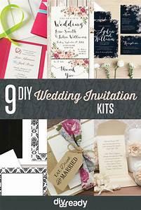 diy wedding invitation kits diy ready With wedding invitation kits toronto