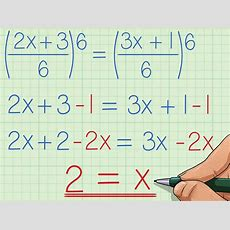 How To Solve Rational Equations 8 Steps (with Pictures) Wikihow