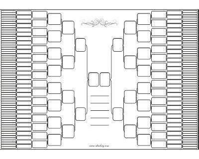blank family tree templates  fill    ancestors