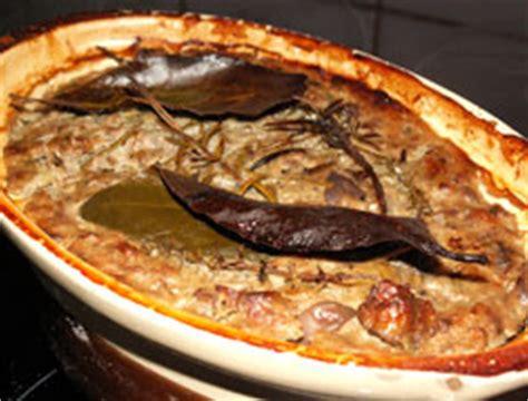 cuisine cevenole recette terrine de porc cévenole cuisine languedoc