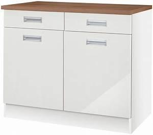Küchenunterschrank Mit Schubladen 100 Cm : k chenunterschrank fulda breite 100 cm kaufen otto ~ Watch28wear.com Haus und Dekorationen