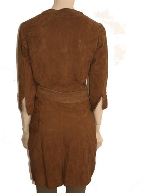 suede jurk